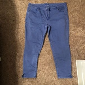 Never worn! Maurices plus-size ankle-length pants